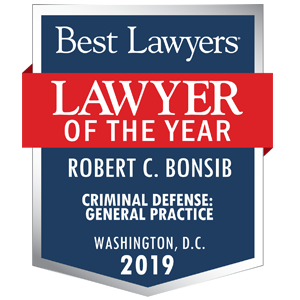 Robert Bonsib lawyer of the year 2019 badge